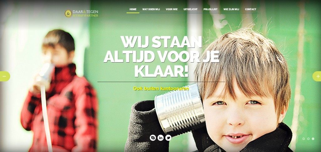 Website daarentegen