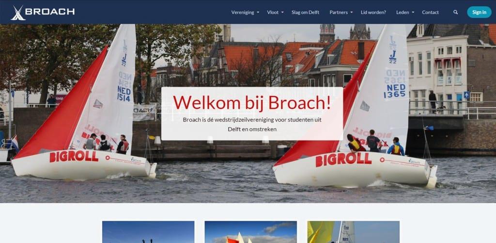 website zeil vereniging