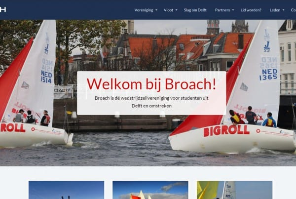 website zeil vereniging