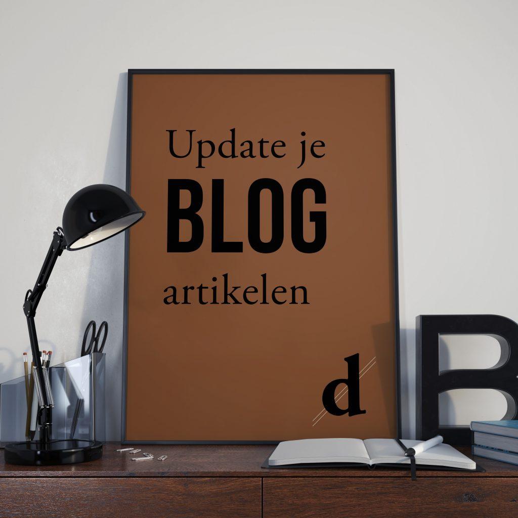 update je blog artikelen