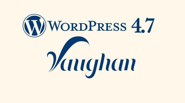 wordpress 4.7 wat is er nieuw?
