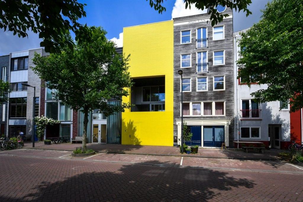 opvallend webdesign is als een geel huis