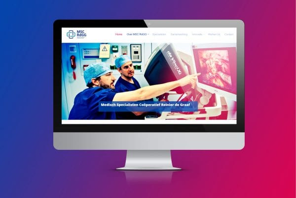 website MSC Reinier de Graaf Gasthuis