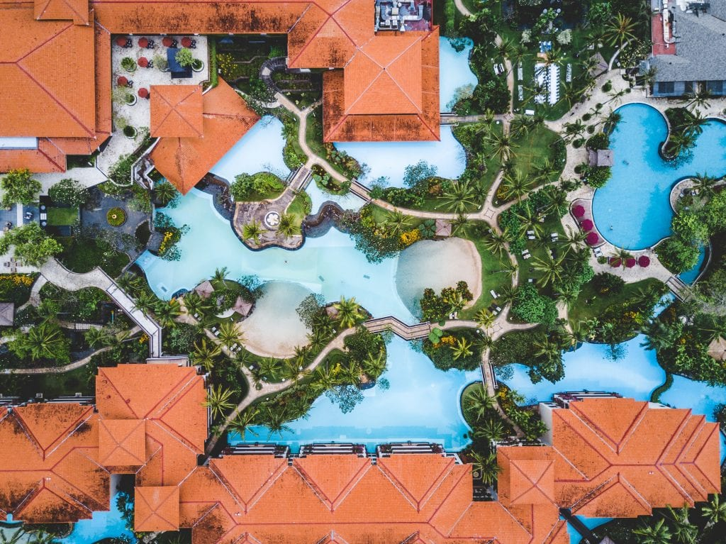 building a brand is like building a resort
