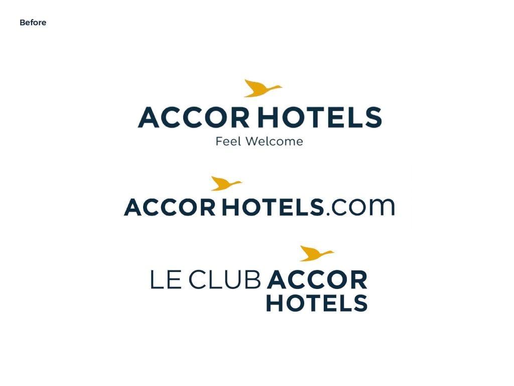 Het oude logo van Accor