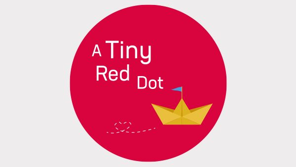 A Tiny Red Dot Logo cakery