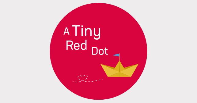 A Tiny Red Dot Logo cakery
